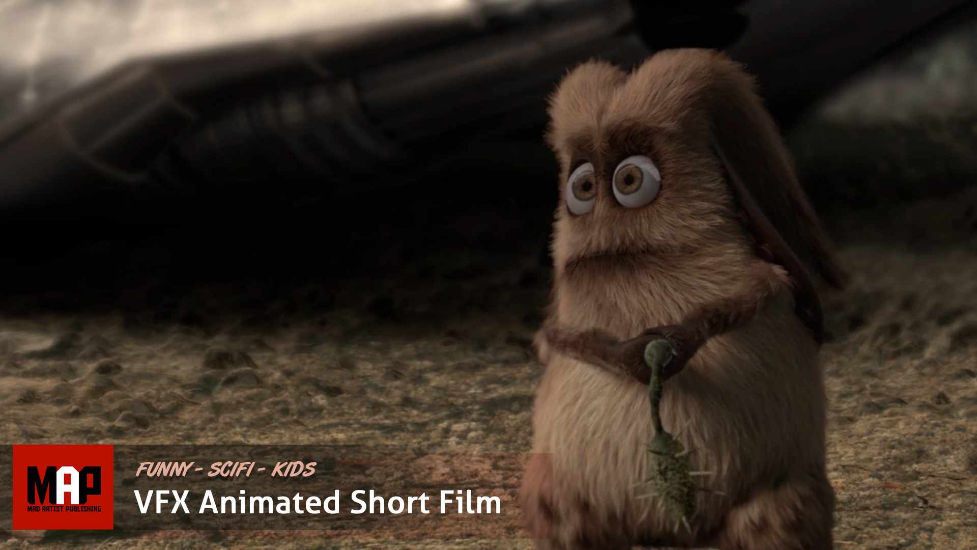 CGI Animated Short Film ** WHAT THE FUR! ** Funny SciFi animated kids short by Objectif3d Team