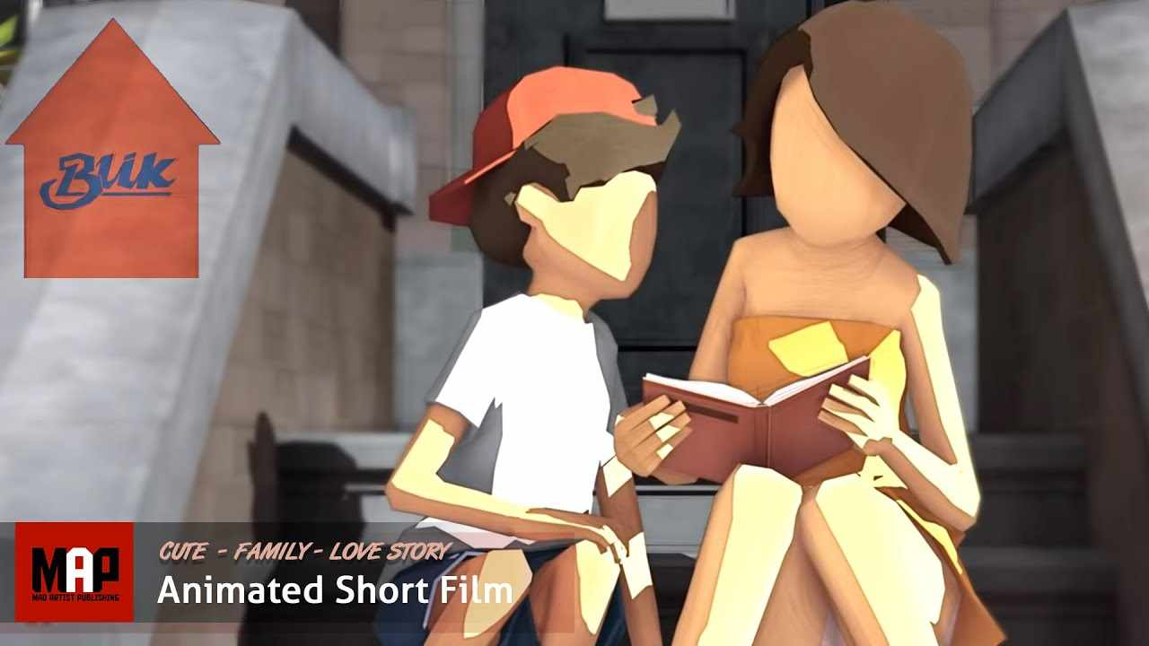 Cute CGI 3D Animated Short Film ** BLIK ** An Adorable Girl Crush Love Story by HKU Team