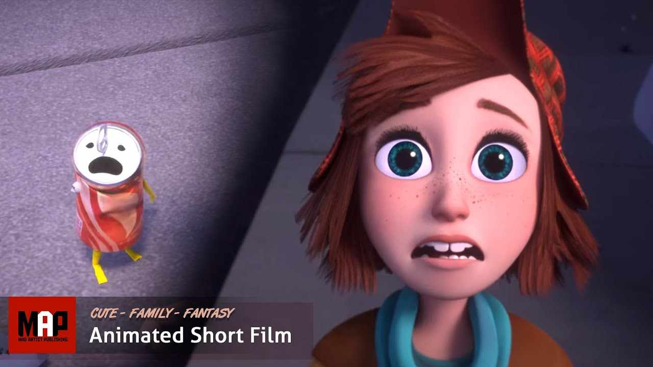 Cute CGI 3d Animated Short Film  ** CAN I STAY ** Emotional sad animation movie by Ringling College