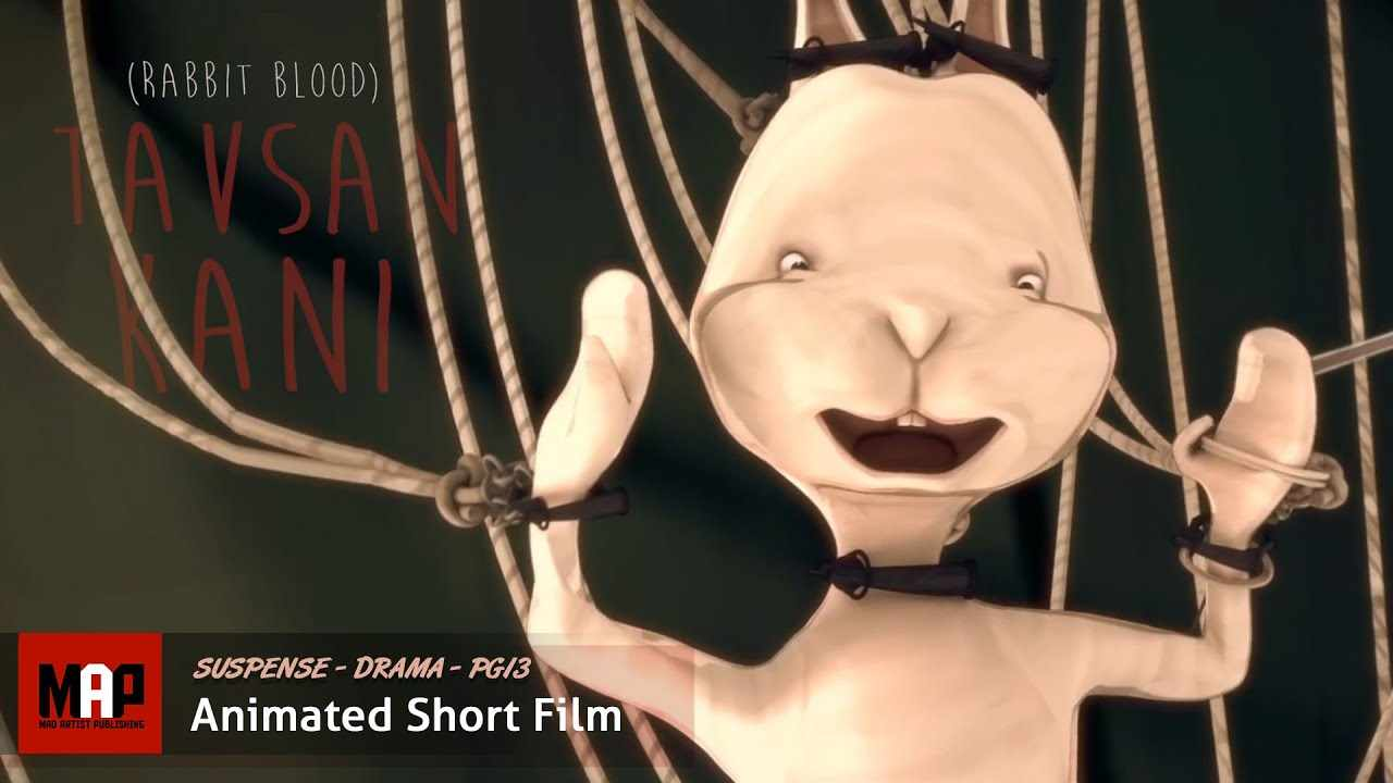 Dark Award Winning Comedy ** RABBIT BLOOD ** CGI 3D Animated Short Film by Yagmur Altan / SVA