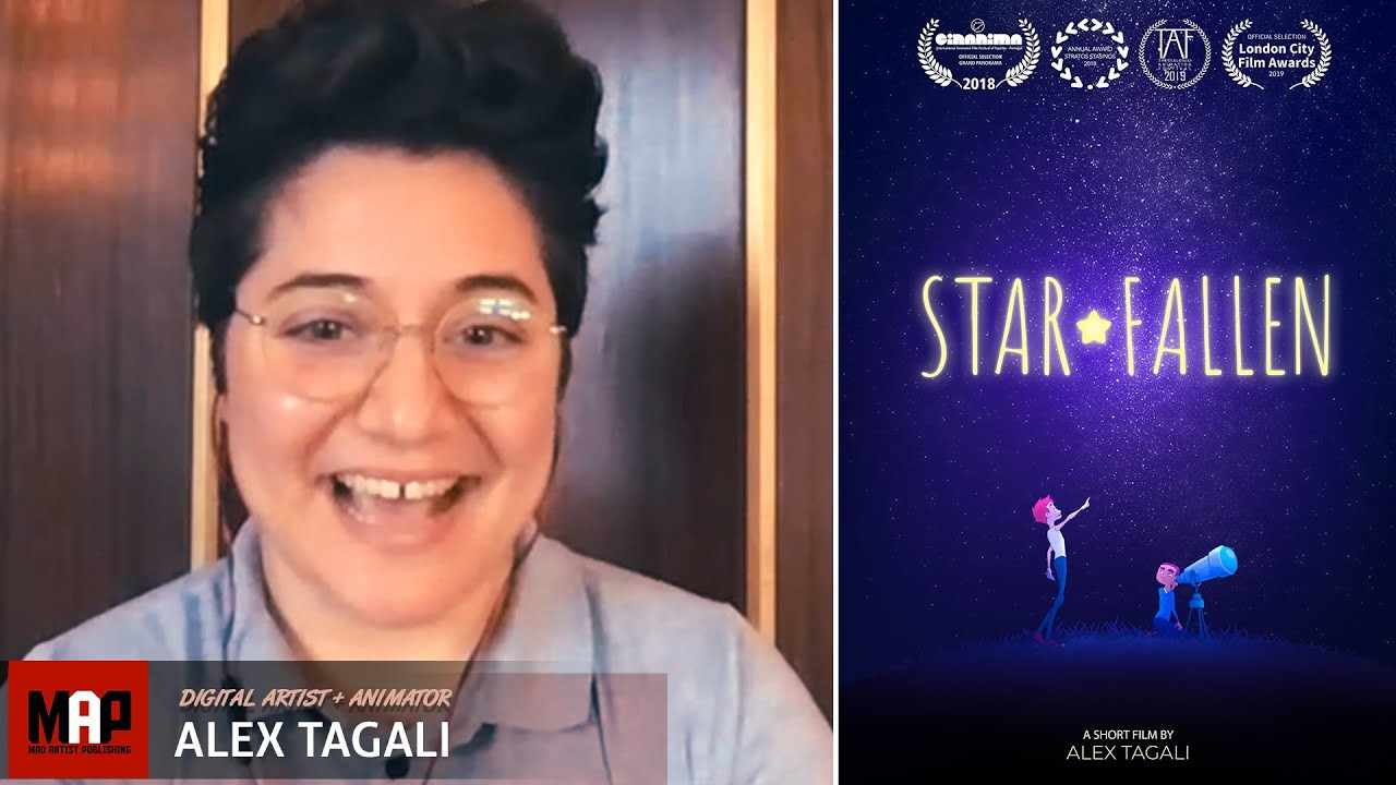Everything You Need to Know About Being an Animator - Alex Tagali Interview [STAR FALLEN lgbtq Film]