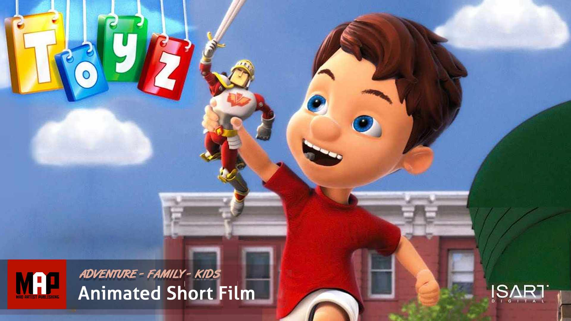 Fantastic CGI 3d Animated Short Film ** TOYZ ** Cute Family Adventure Cartoon for Kids by IsArt Team