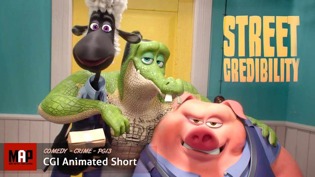 Funny CGI 3D Animated Short Film ** STREET CREDIBLITY ** Animation & Behind The Scenes By ArtFX Team
