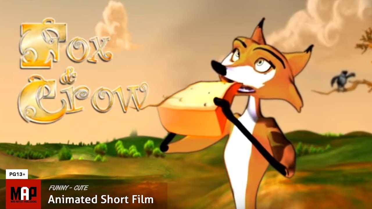 Funny CGI 3d Animated Short ** THE FOX & THE CROW ** Film by Lixandro Cordero