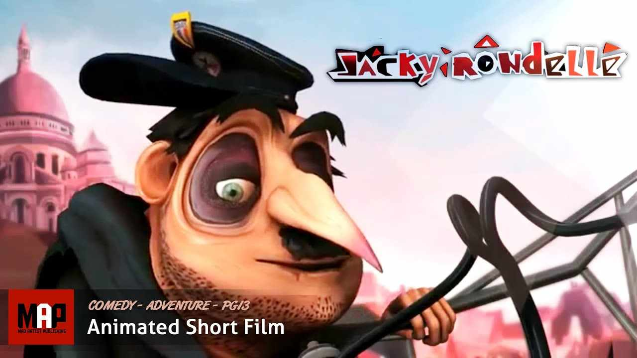 Funny Drunk Police Short Film ** JACKY RONDELLE ** CGI 3D Animation by Charles Bouet at Supinfocom