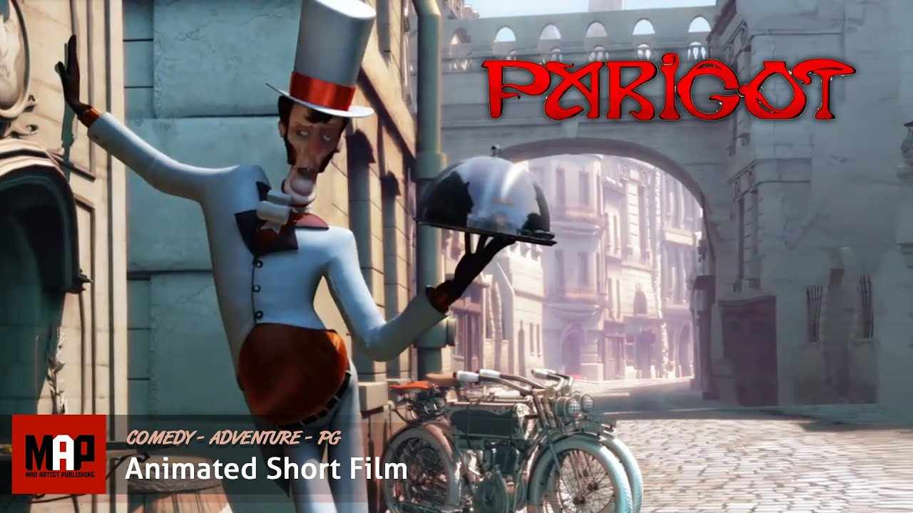 Funny Slapstick Adventure ** PARIGOT ** CGI 3D Animated Short Film by Georges Méliès School Team