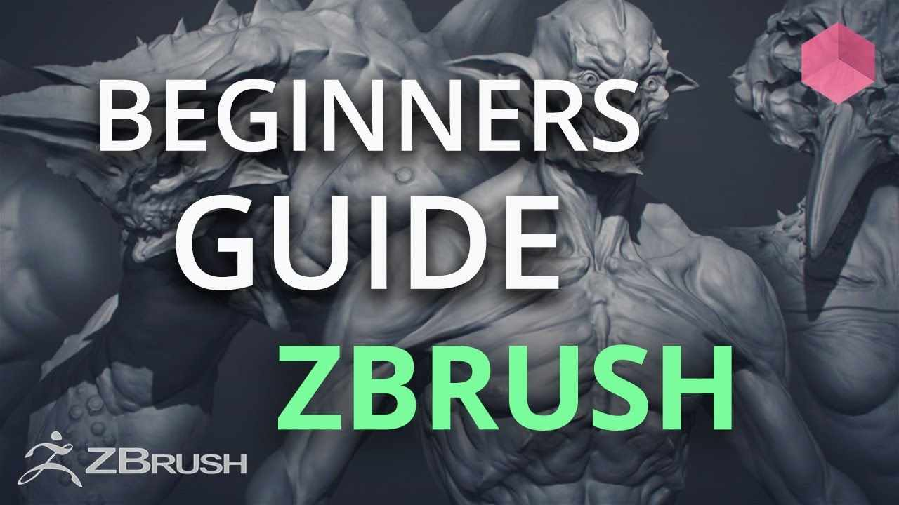Getting Started with Sculpting - ZBrush for Beginners Tutorial