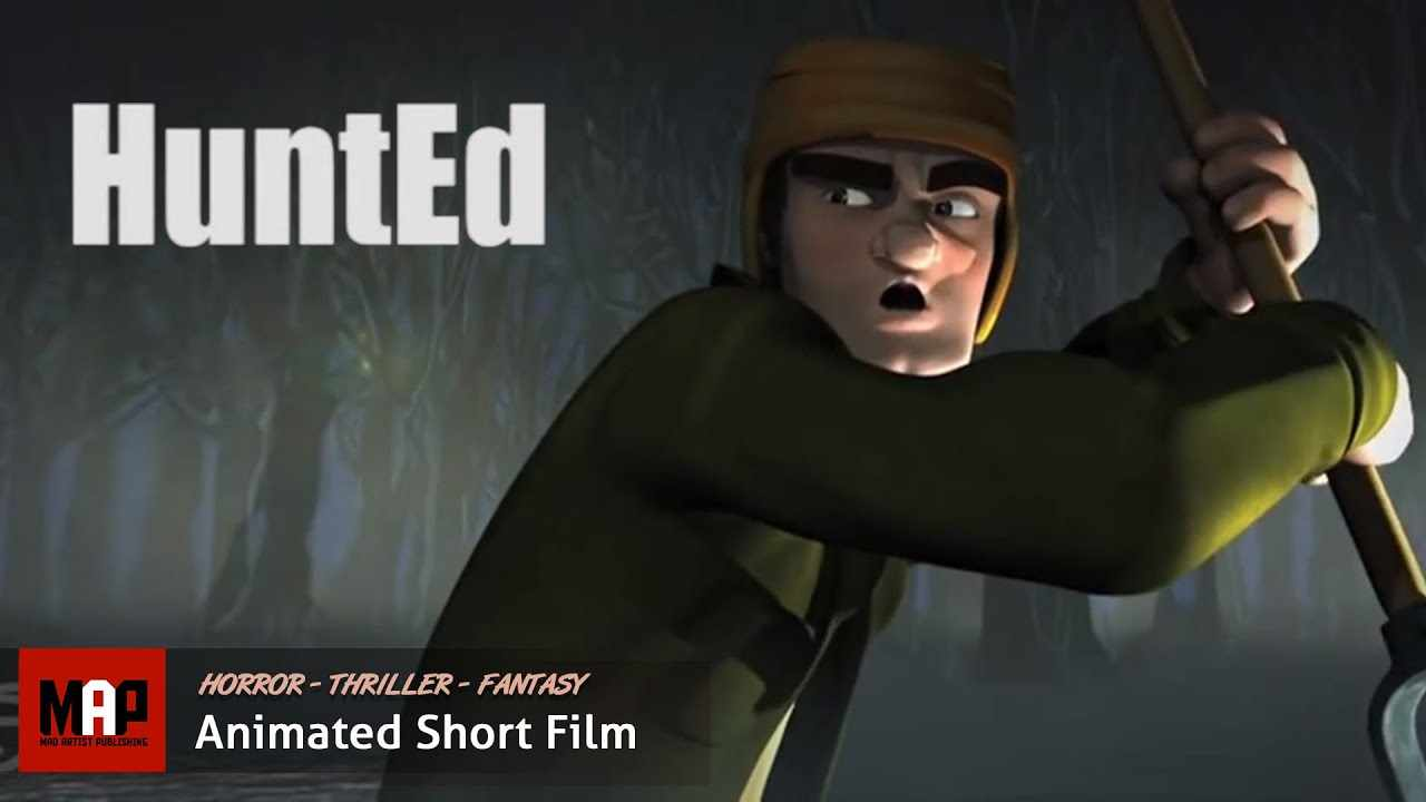 Horror Thriller CGI 3D Animated Film ** HUNTED ** Short Animation by Leoncio Mercado & VFS