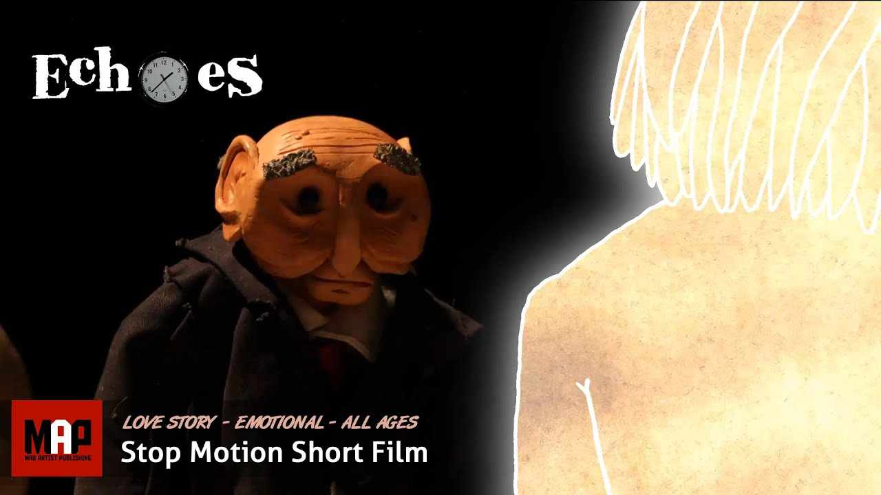Sad Love Story ** ECHOES ** Emotional Stop Motion Animated Movie by Ben Bradbury