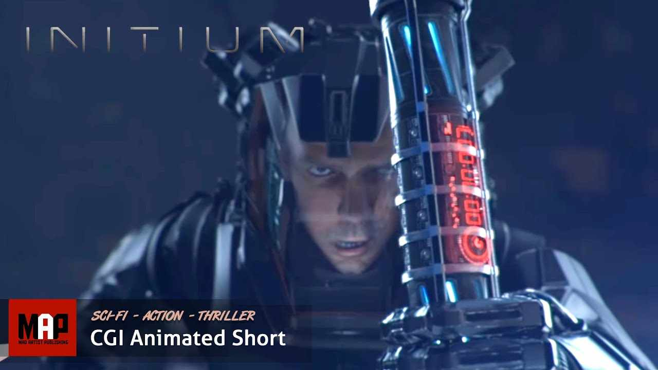 Sci-Fi Action CGI Animated Short Film ** INITIUM ** Space Travel Action CG movie by ArtFX Team