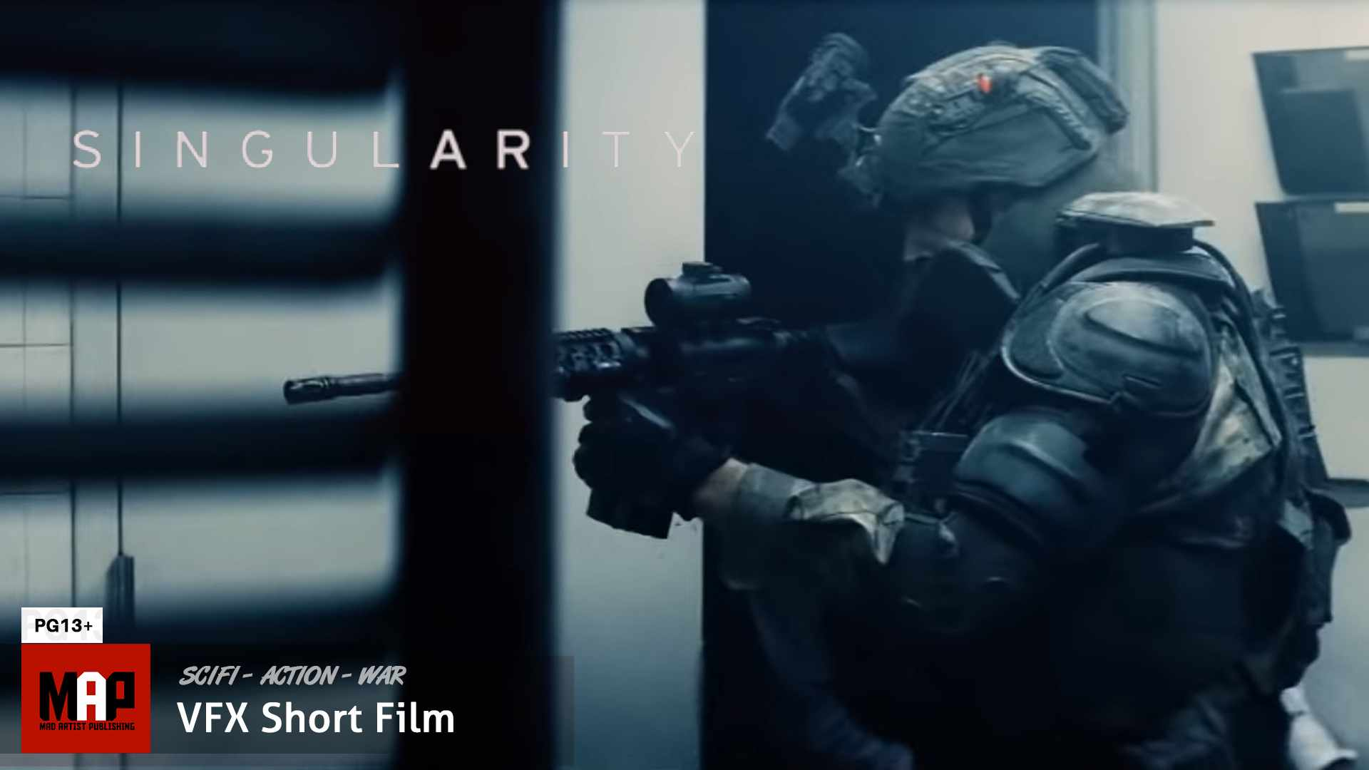 Sci-Fi Action War Film ** SINGULARITY ** VFX Short by The Bicycle Monarchy