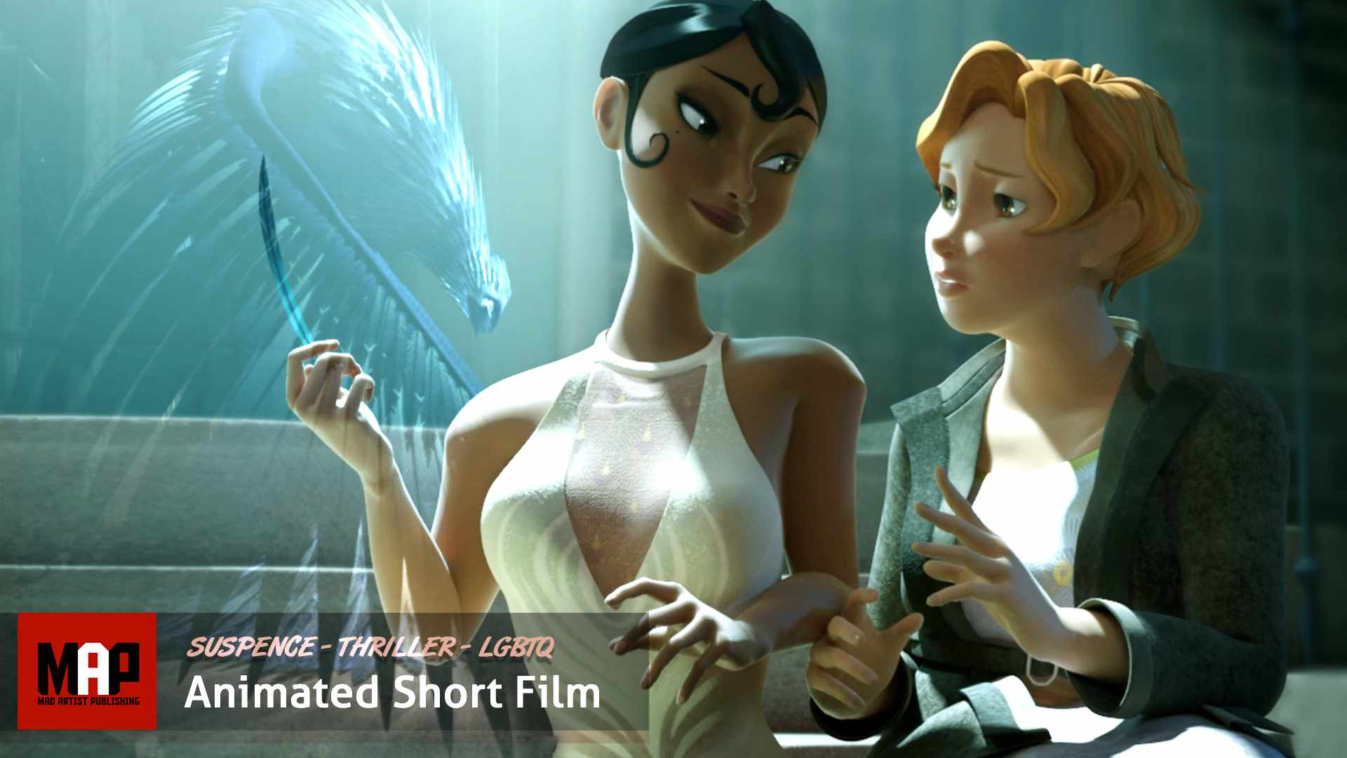 CGI 3d Animated Short Film ** TENTATRICE ** Suspence Thriller
