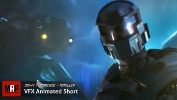 Sci-Fi Action CGI 3d Animated Short Film ** AZARKANT ** Suspense VFX CG Movie by Andrey Klimov