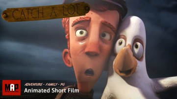 Adventure CGI 3D Animated Short Film ** CATCH A LOT ** Cute Family Animation by Artfx Team