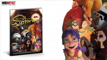 Book - Animation Stories: Collection of World's best CGI & VFX Short Films