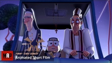 CGI 3D Animated Short Film ** SACRED NUNS ** Funny Animation by ISART DIGITAL Team
