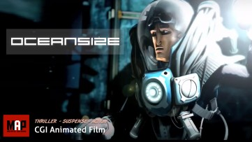 Thriller Adventure CGI 3D Animated Short Film ** OCEANSIZE ** Animation by Supinfocom Team