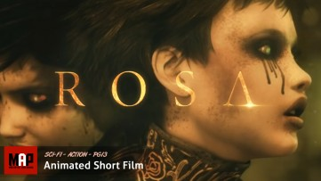 Sci-Fi Cyberpunk Action CGI 3d Animated Short Film ** ROSA * Award Winning Film by Orellana Pictures