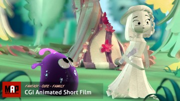 Cute CGI 3d Animated Short Film ** A NEW HUE ** Charming Family Video For Kids