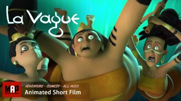 Adventure Fantasy CGI 3d Animated Short Film ** THE WAVE / LA VAGUE ** Funny Kids Animation by ESMA