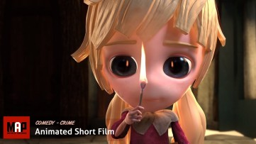Creepy CGI 3D Animated Short Film ** THE LITTLE MATCH GIRL ** Cute & Scary by UHAnimation