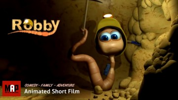 Cute & Funny CGI 3D Animated Short Film ** ROBBY **  Motivational Animation for Kids by Edwin Shaap