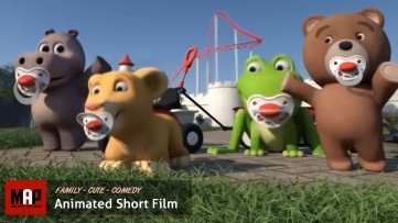 Cute CGI 3D Animated Short Film ** BIBI FUN PARK ** Adorable Kids Animation Cartoon by Joel Stutz