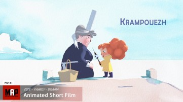 Cute CGI 3d Animated Short Film ** KRAMPOUEZH ** by ArtFX Team [PG13]