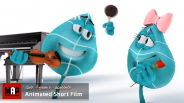 Cute CGI 3d Animated Short Film ** LEAF TANGO - FEEL OUR LOVE ** Cg Movies for Kids by Joel Stutz