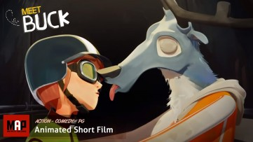 Funny Action CGI Animated Short Film ** MEET BUCK ** Adrenaline Animation by Supinfocom Rubika Team