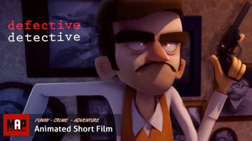 Funny CGI 3d Animated Short Film  ** DEFECTIVE DETECTIVE ** Animation by Avner Geller & Stevie Lewis