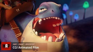 Funny CGI 3d Animated Short Film ** THE LOVE OF TWO BEASTS ** Cute Romantic Adventure by IsART Team