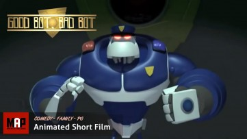 Funny Robots CGI 3D Animated Short Film ** GOOD BOT, BAD BOT ** by Ringling College