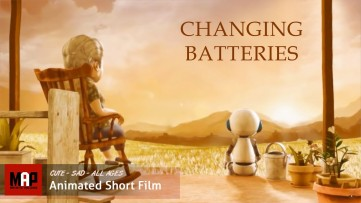 Sad CGI 3D Animated Short Film ** CHANGING BATTERIES** EmotionalAnimation by FCM MMU Team