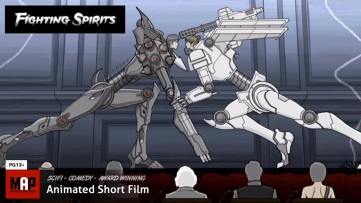 Sci-Fi Comedy Animated Film * FIGHTING SPIRITS * Academy Award Nominated Short Film by Gene Kim