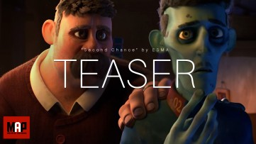 TEASER Trailer | CGI 3d Animated Short Film ** SECOND CHANCE ** Sad Poetic Animation by ESMA Team