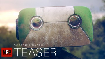 TRAILER | Cute VFX + CGI 3d Animated Short Film ** SACCAGE ** Sad Robot Animation by ISART Digital