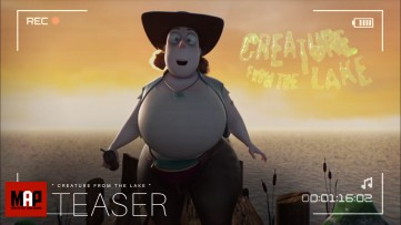 TRAILER | Funny CGI 3D Animated Short Film CREATURE FROM THE LAKE by IsArt Digital Team
