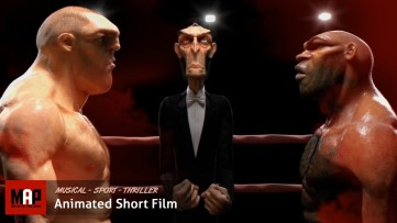 VFX & CGI Animated Short Film ** PRESTON ** Thriller Musical Sport by ISART DIGITAL