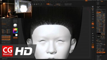 Zbrush Tutorial HD Pixologic Zbrush Siggraph 2012 - Part2 | CGMeetup