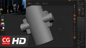 Zbrush Tutorial HD Pixologic Zbrush Siggraph 2012 - Part3 | CGMeetup