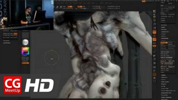 Zbrush Tutorial HD Pixologic Zbrush Siggraph 2012 - Part4 | CGMeetup