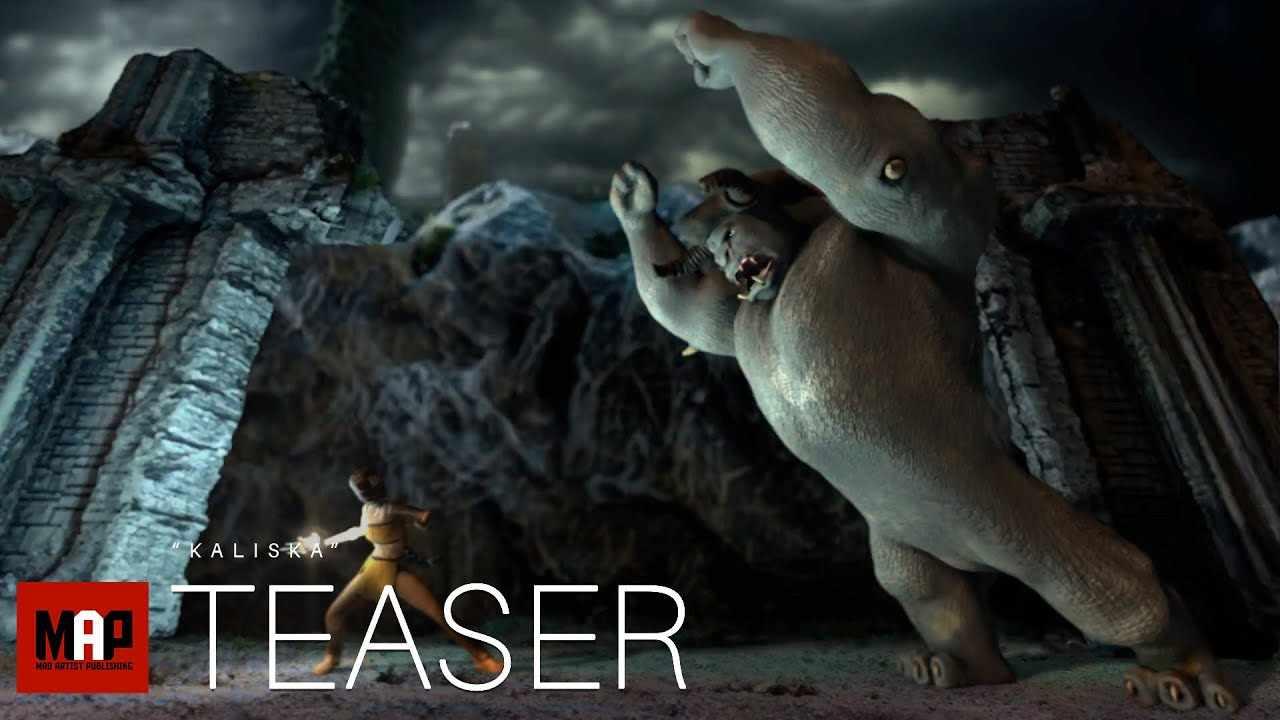 TRAILER | Adventure CGI 3d Animation Short ** KALISKA ** By