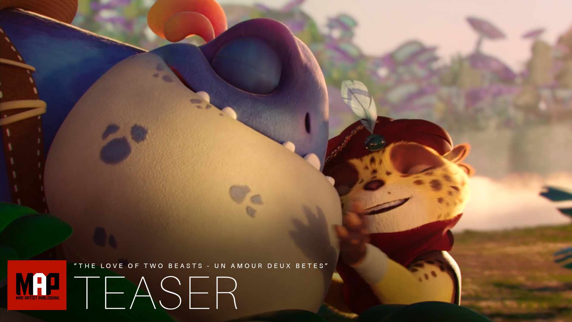 TRAILER | Cute CGI 3d Animated Short Film ** THE LOVE OF TWO BEASTS ** Funny Adventure by IsART Team