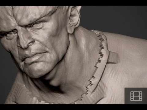 Zbrush Tip - Backface & Polygroup Masking