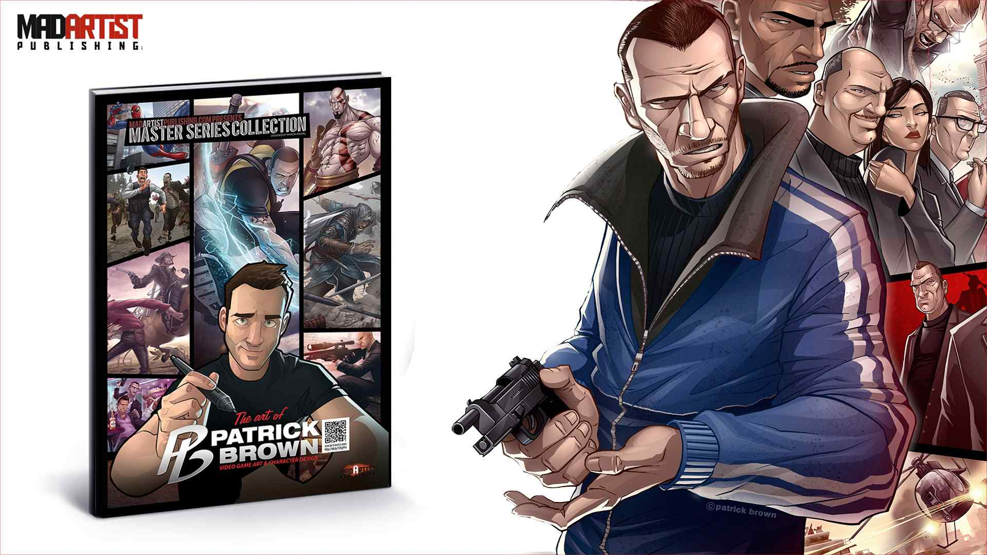 Character Design Ebook : Ebook art of patrick brown video game character