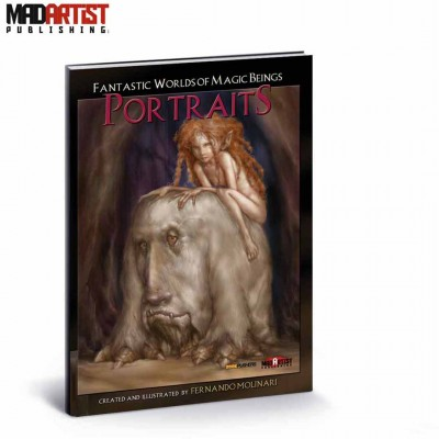 Book - Fantastic Worlds of Magic Beings - Portraits - With Fernando Molinari