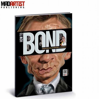 Book - How to BOND: Caricatures, Illustrations & Tutorials (Villains, Girls & Agents)