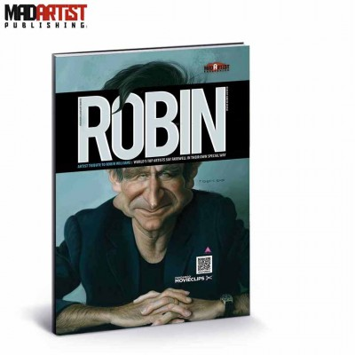 Book - ROBIN: Fan & Art Tribute to Robin Williams