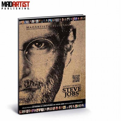 Book - Steve Jobs : Artist Tribute - Collection of artworks & caricatures with a history of products